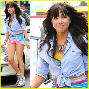 Carly Rae Jepsen: Music Video in NYC!