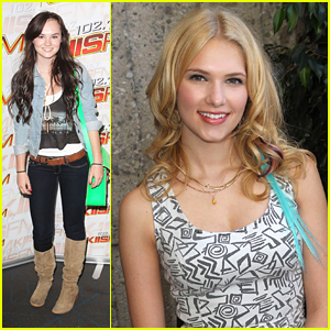 Madeline Carroll: KIIS FM Teen Choice Lounge with Claudia Lee!