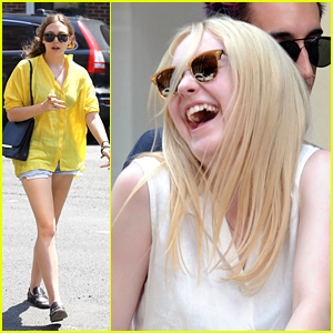 Dakota Fanning  &#038; Elizabeth Olsen: Jake Gyllenhaal Stops By 'Very Good Girls'