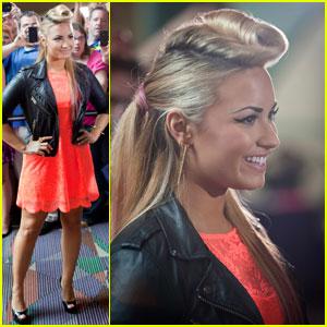Demi Lovato: 'X Factor' Fashionista!