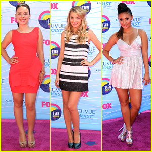 Francia Raisa & Megan Park - Teen Choice Awards 2012