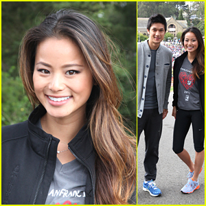 Jamie Chung: AIDS Walk San Francisco