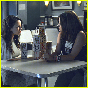 Lucy Hale & Janel Parrish: House of Cards 'Crazy'