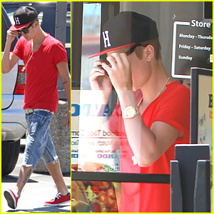 Justin Bieber: Mexican Lunch with Dad Jeremy
