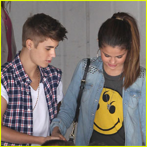justin bieber and selena 