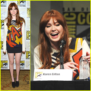 Karen Gillian: 'Doctor Who' at Comic Con 2012