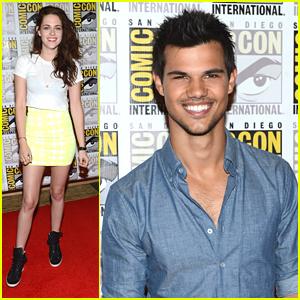 Taylor Lautner: Comic-Con with Kristen Stewart!