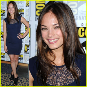 Kristin Kreuk: Comic-Con Beauty!