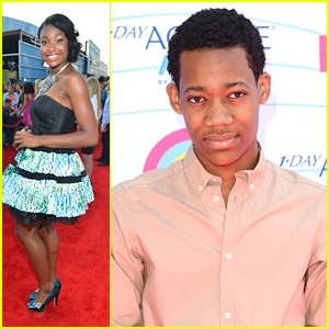 Tyler James Williams & Coco Jones - Teen Choice Awards 2012