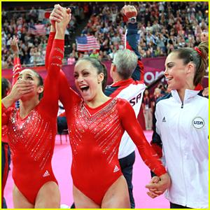 U.S. Women's Gymnastics Team Win Gold!