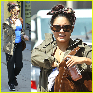 Vanessa Hudgens: Bow Tie Head Band!