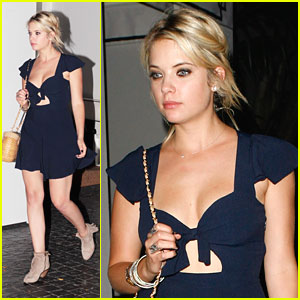 Ashley Benson: Chateau Marmont Chic