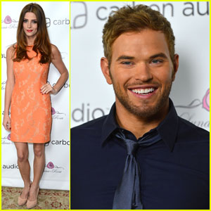 Ashley Greene &#038; Kellan Lutz: Zooka Launch Party!