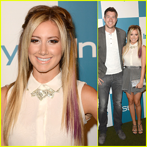 Ashley Tisdale: InStyle Summer Soiree with Scott Speer