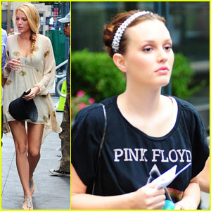 Blake Lively &#038; Leighton Meester: 'Gossip Girl' BFFs
