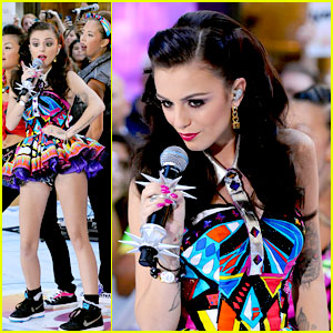 Cher Lloyd: Today Show-Stopper!