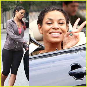 Jordin Sparks: Peace on 'Pete' Set | Jordin Sparks | Just ...