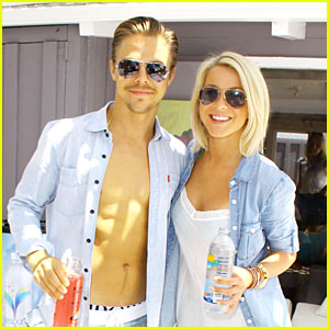 Julianne Hough & Brother Derek: Malibu Beach Day