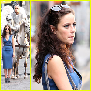 Kaya Scodelario: 'Vertigo' Music Video Shoot