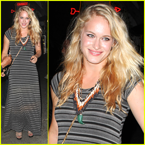 Leven Rambin: Night Out at Chateau Marmont
