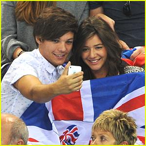 Louis Tomlinson: 2012 Olympics with Eleanor Calder