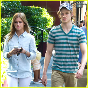 Lucas Till: Parc Bistro Lunch in Philadelphia