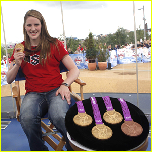 Missy Franklin: 'I'm Proud of My Size 13 Feet'
