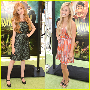 Olivia Holt Celebrates Birthday at 'ParaNorman' Premiere
