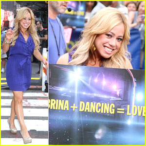 Sabrina Bryan just jared
