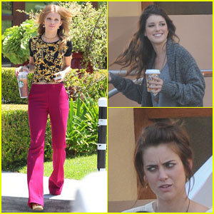 AnnaLynne McCord: '90210' with Shenae Grimes & Jessica Stroup!