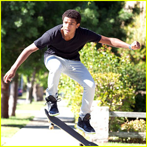 Trevor Jackson: Skateboarding Stud
