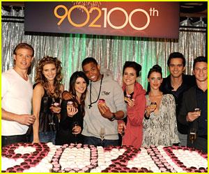 Jessica Stroup & Shenae Grimes: '90210; Cast Celebrates 100 Episodes!