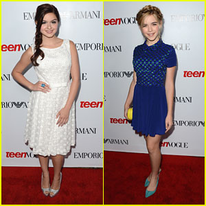 Ariel Winter & Kiernan Shipka: Teen Vogue Young Hollywood Party