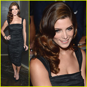 Ashley Greene: Donna Karan New York Front Row