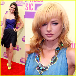 Ashley Rickards Goes Blonde!