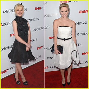 Ashley Rickards &#038; Greer Grammer: Teen Vogue Young Hollywood Party