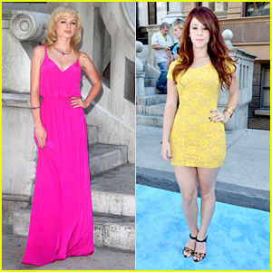 Ashley Rickards & Jillian Rose Reed: Variety's Power of Youth 2012