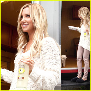 Ashley Tisdale: First Day on 'Scary Movie 5'