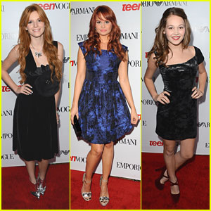 Bella Thorne & Debby Ryan: Teen Vogue Young Hollywood Party