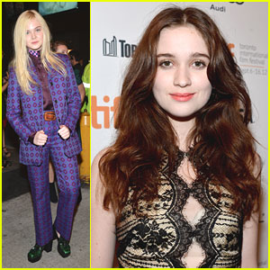 Elle Fanning: 'Ginger &#038; Rosa' Premiere with Alice Englert!