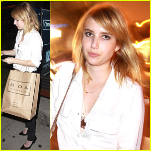 Emma Roberts: Boa Beauty