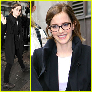 Emma Watson: BBC Radio 1 Stop