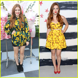 Holland Roden: alice + olivia Presentation Pretty