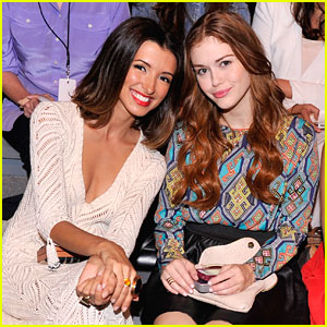 India de Beaufort &#038; Holland Roden: Front Row at Mara Hoffman!