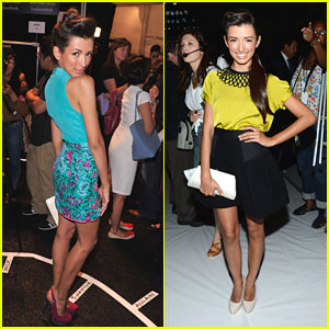 India de Beaufort: Nanette Lepore, Milly & Whitney Eve Shows