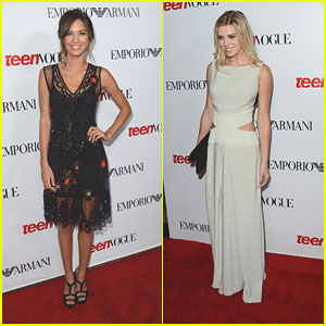 Kelsey Chow & Claire Julien: Teen Vogue Young Hollywood Party