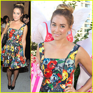 Lauren Conrad: alice + olivia Fashion Show