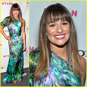 Lea Michele: Nylon Mag Dinner
