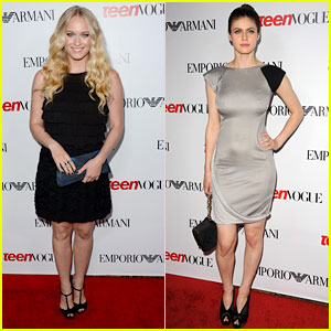Leven Rambin & Alexandra Daddario: Teen Vogue Young Hollywood Party