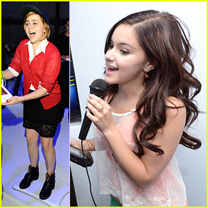 Mae Whitman: Nintendo Wii U Preview with Ariel Winter &#038; Shenae Grimes
